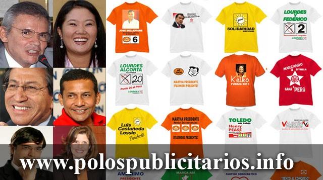 Cotización de Polos Publicitarios para Candidatos y Campañas Políticas