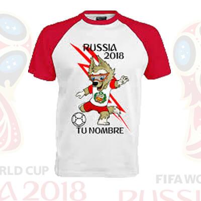 6ee395fd02 ✅Polo estampado para el mundial Perú Rusia 2018 🥇 | Polos ...